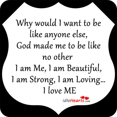 I am Beautiful in God's sight